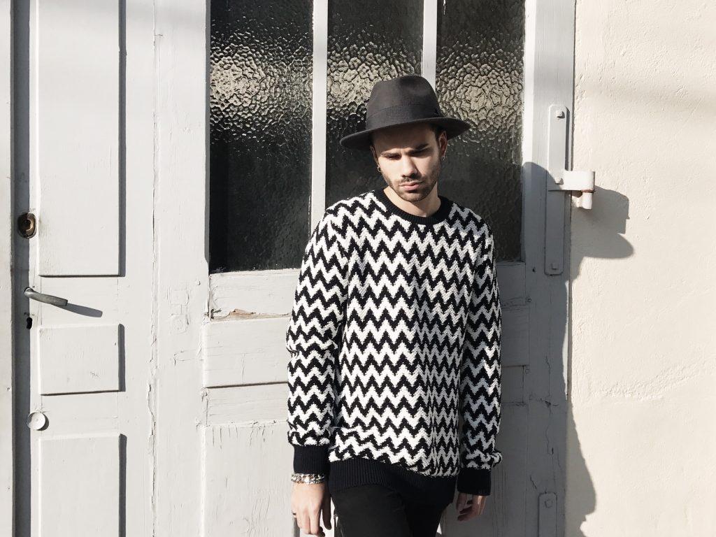 mode homme zig zag