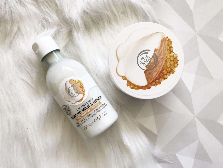 The Body Shop : Lait d'amande & miel