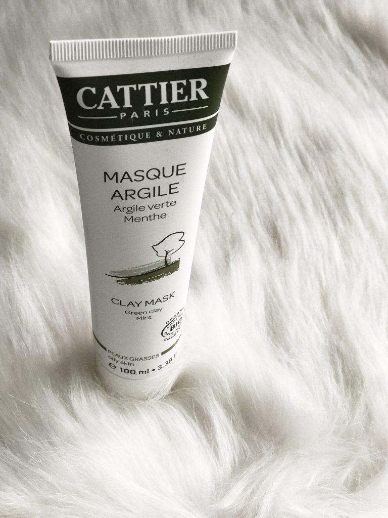 Cattier gommage masque argile