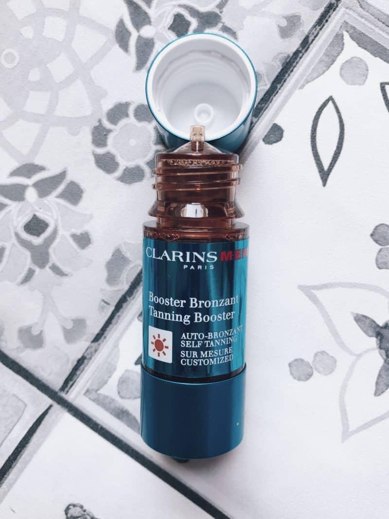 ClarinsMen booster auto-bronzant homme