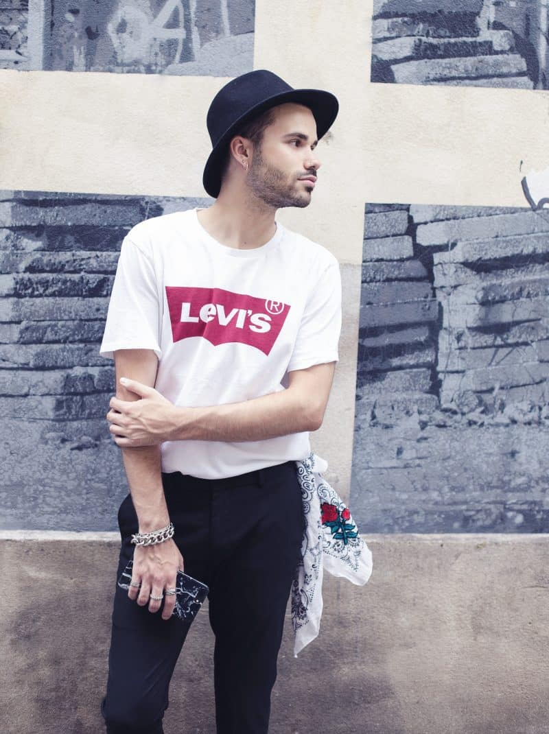Levis tee shirt homme