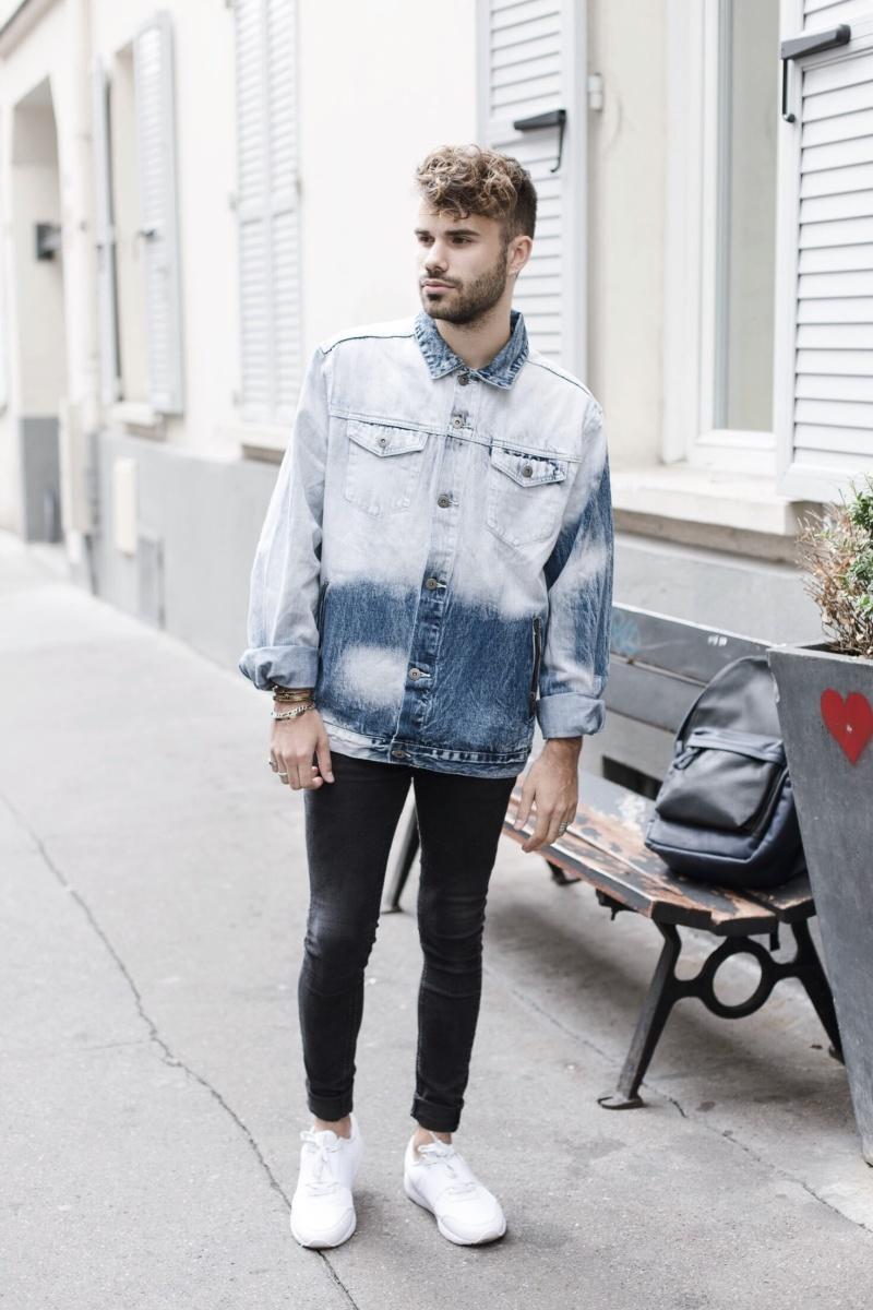 Veste-délavée-tie-dye-color-block-influenceur-homme