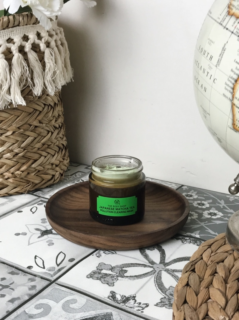 The Body Shop masque anti-pollution au Thé Matcha du Japon