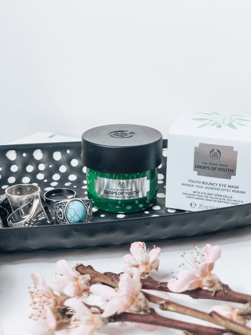 Masque yeux Drops of Youth The Body Shop avis