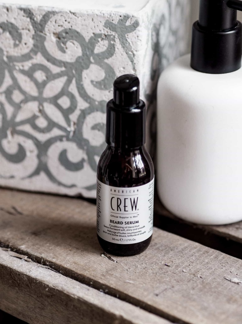 American crew barbe serum beard