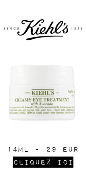 Kiehl's avocado contour des yeux
