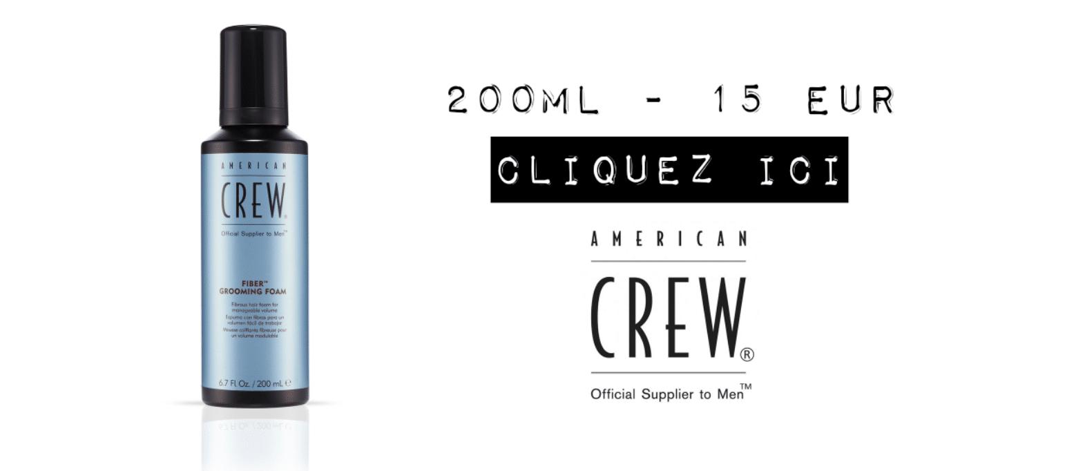 american crew fiber groaming foam mousse