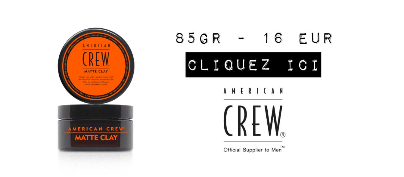 American Crew Matte Clay avis acheter