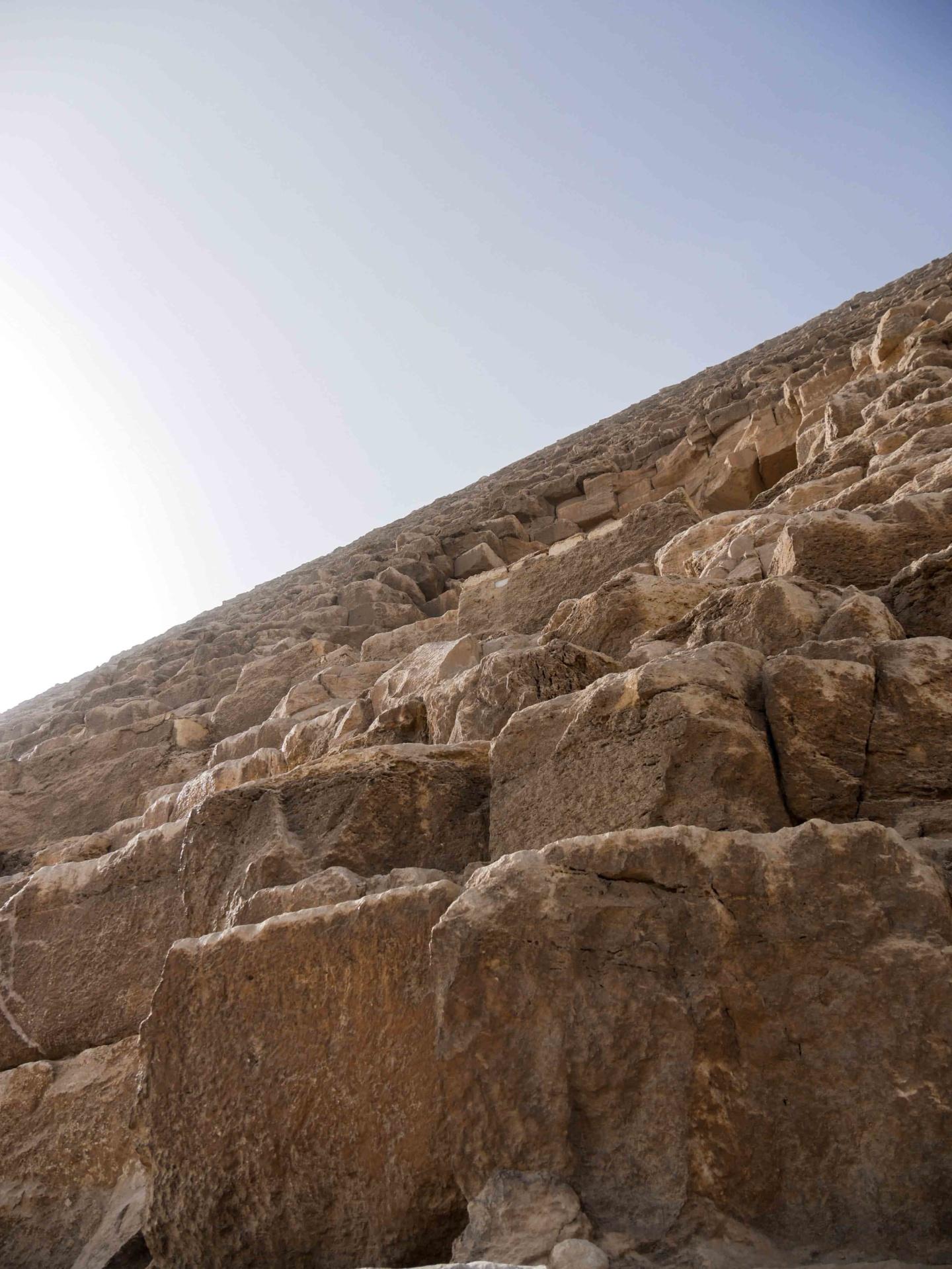 pierres des pyramides de gizeh