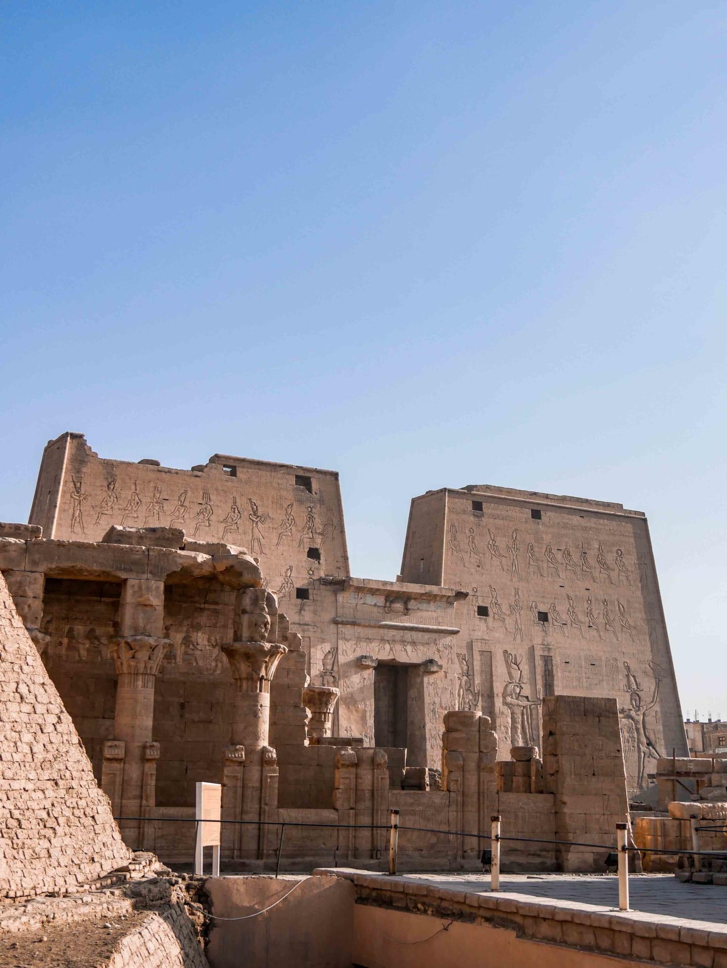 temple d'horus edfou
