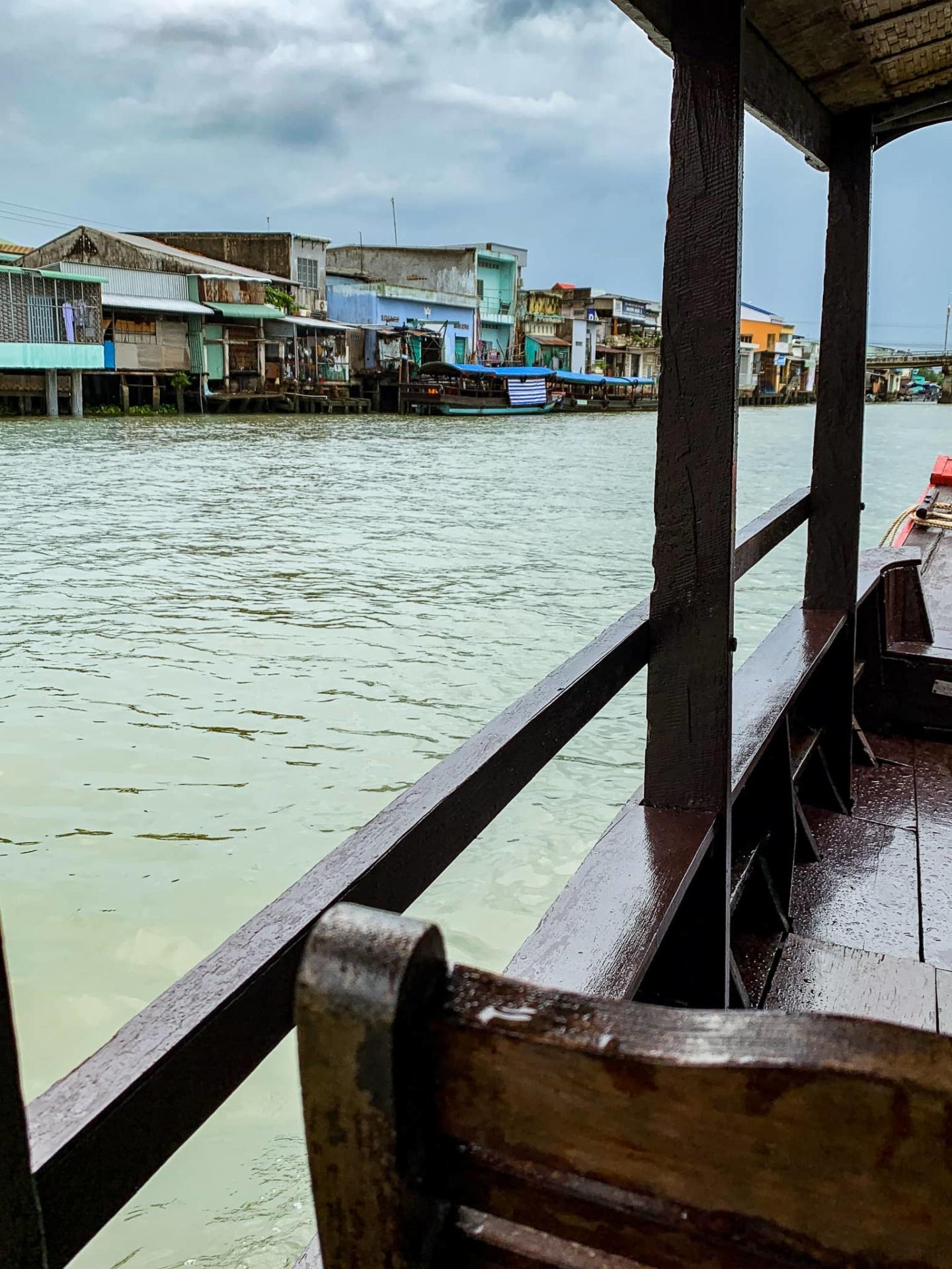 Delta du Mekong bateau