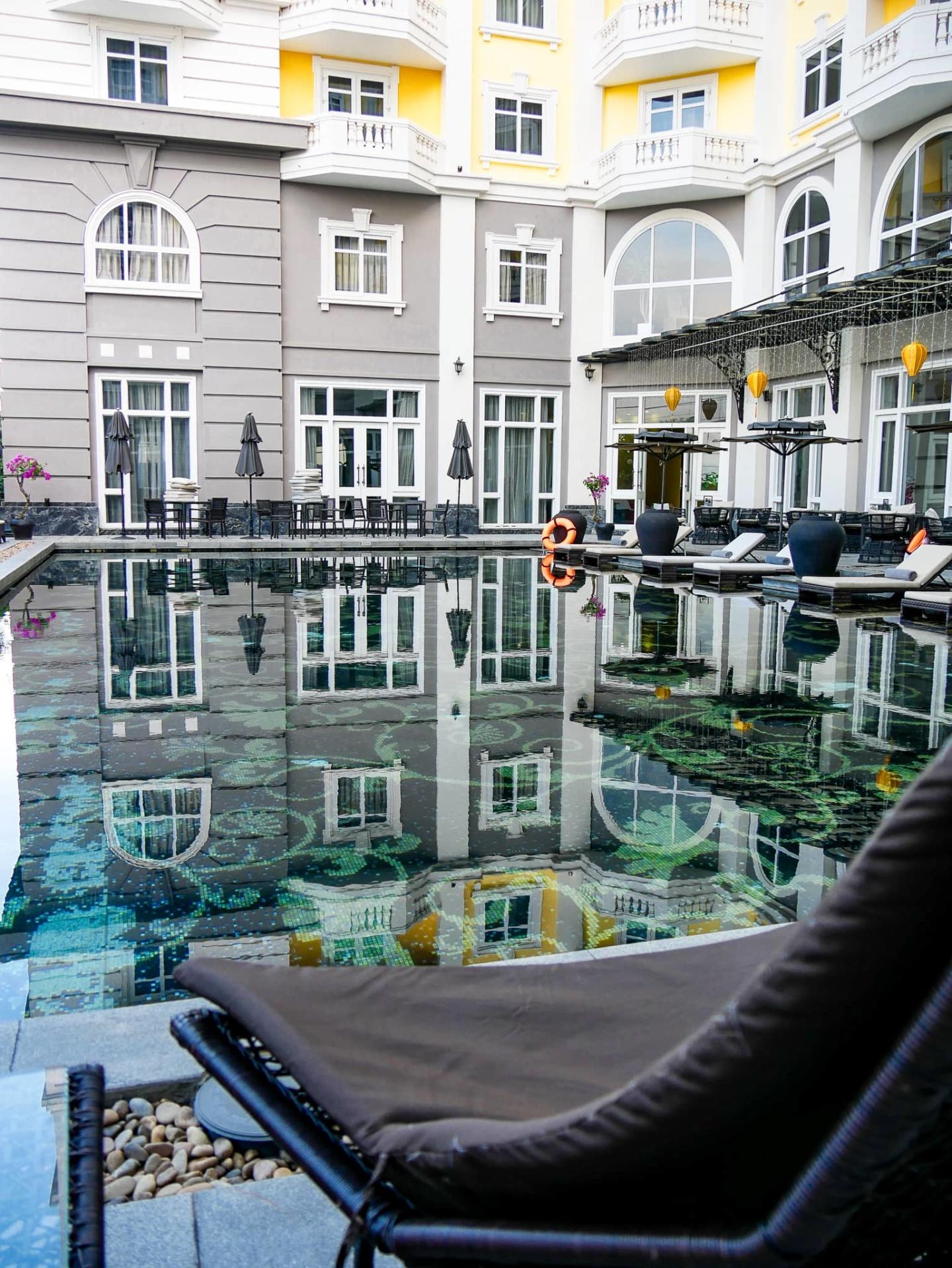 mgallery royal hoi an pool