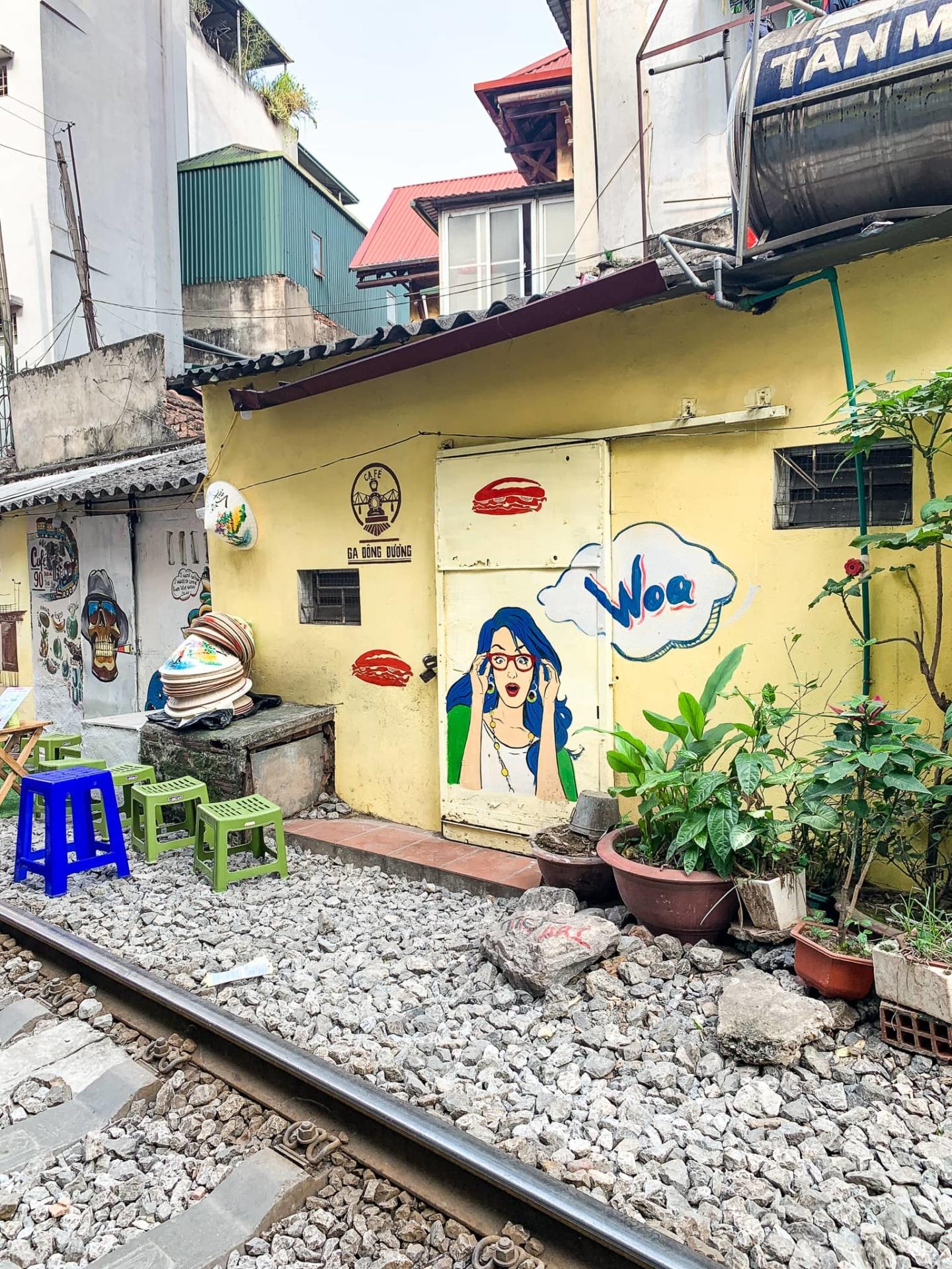 rue du train hanoi
