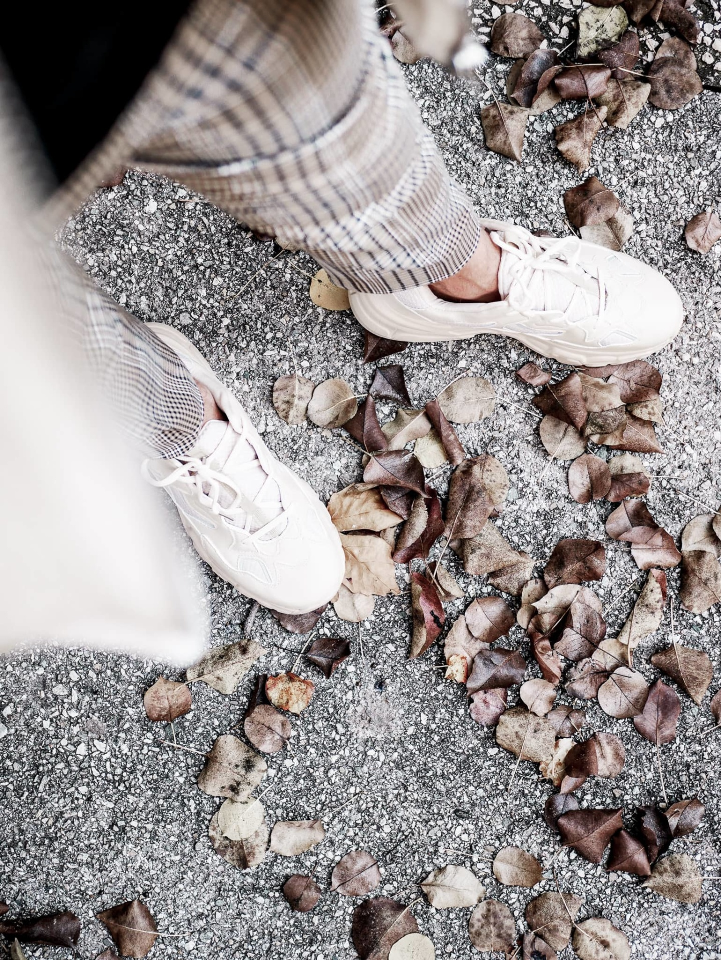 chaussures boohoo beige