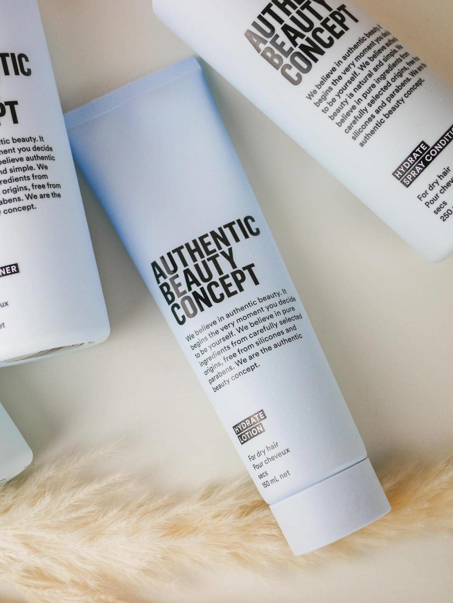 authentic beauty concept avis gamme hydratante