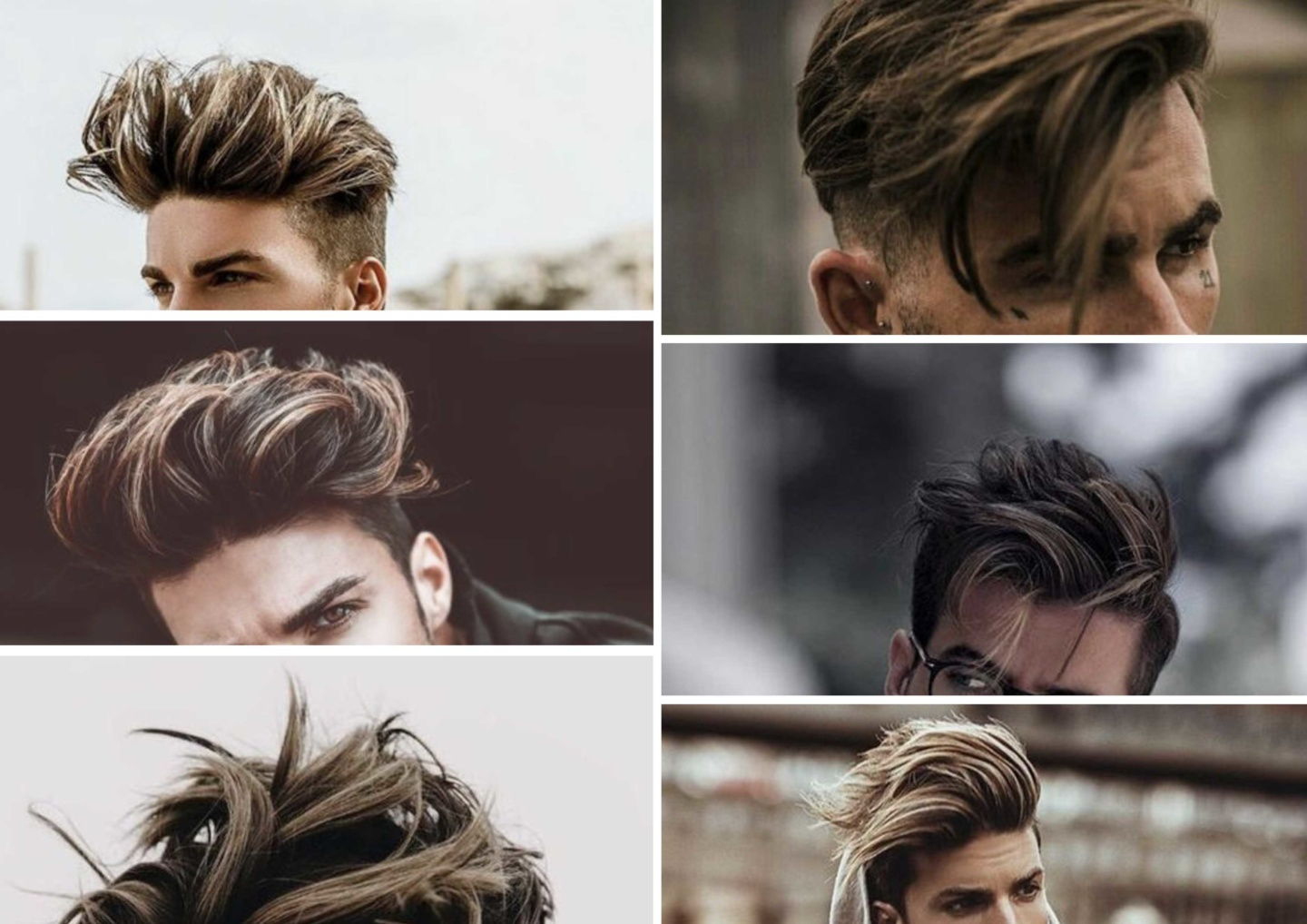 balayage blond pour homme
