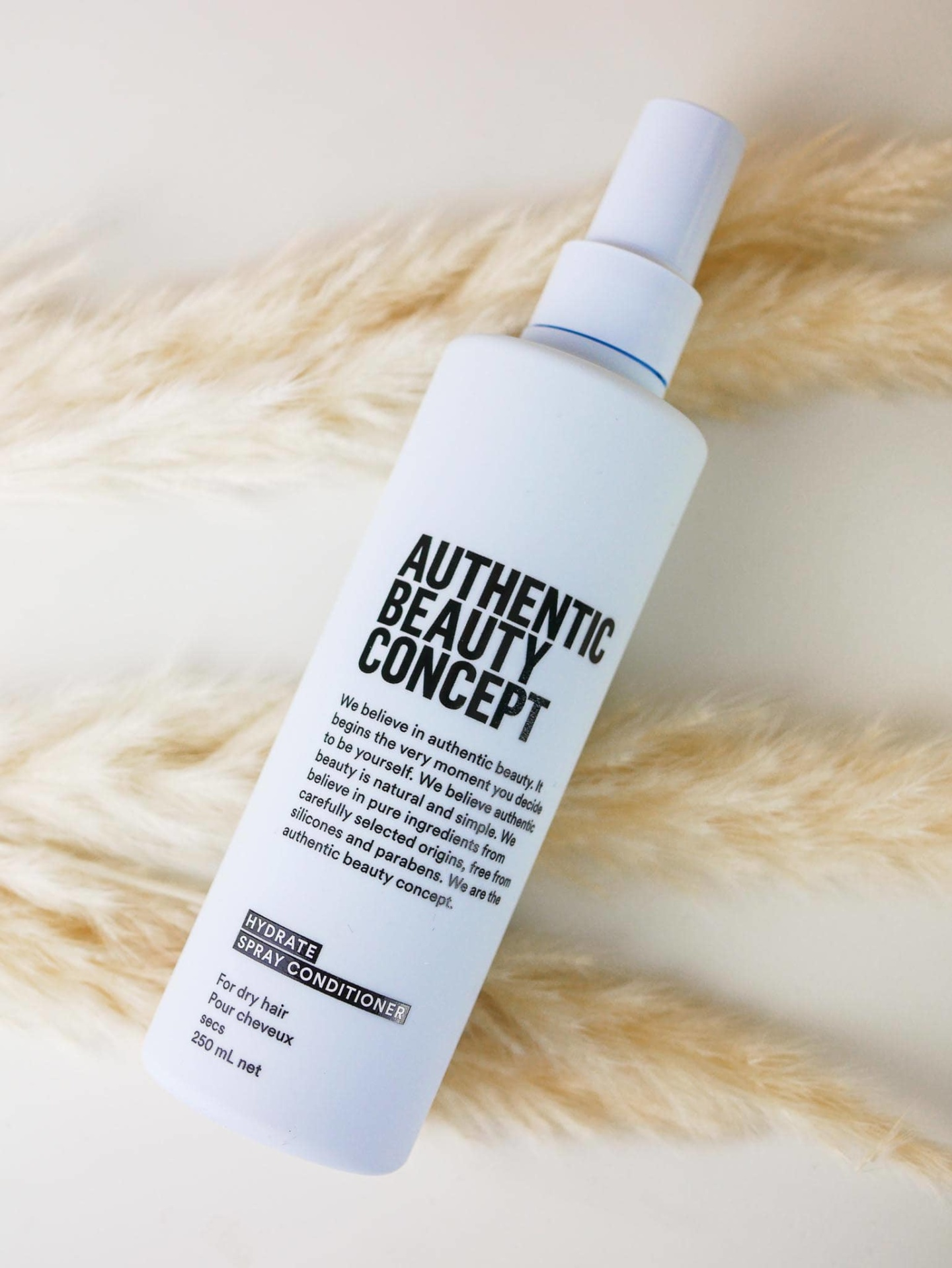 hydrate spray authentic beauty concept
