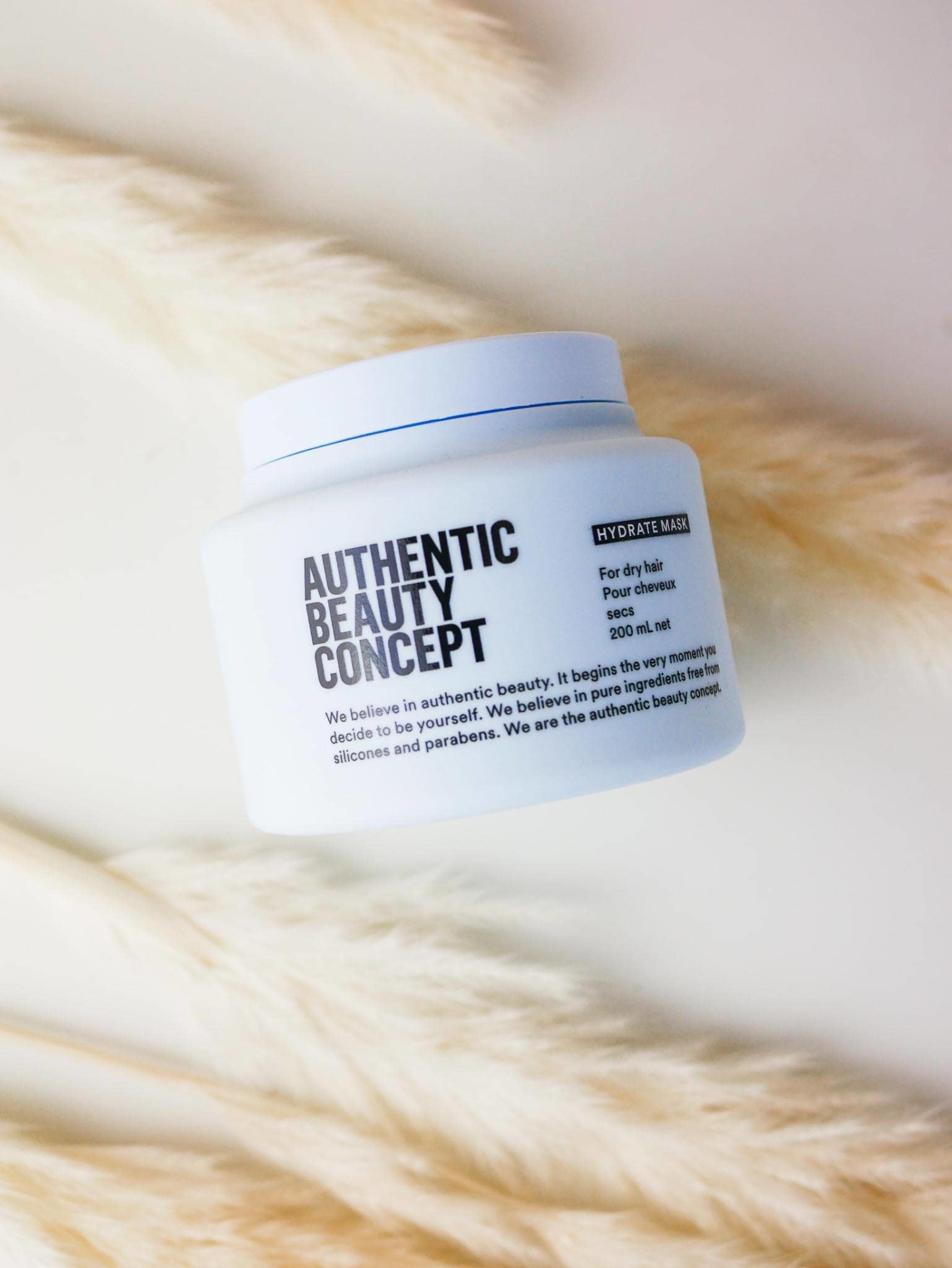 masque hydratant authentic beauty concept