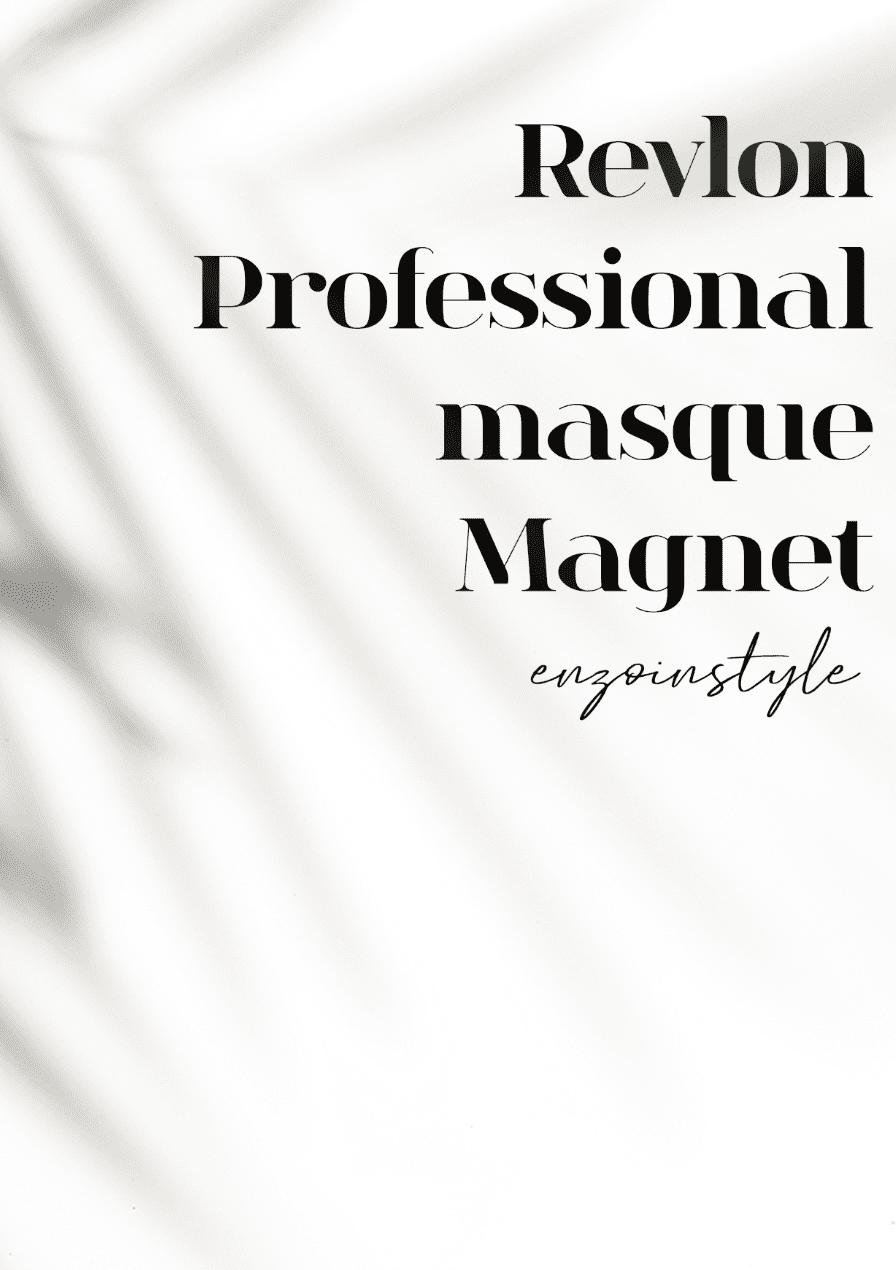 Revlon Professional masque Magnet