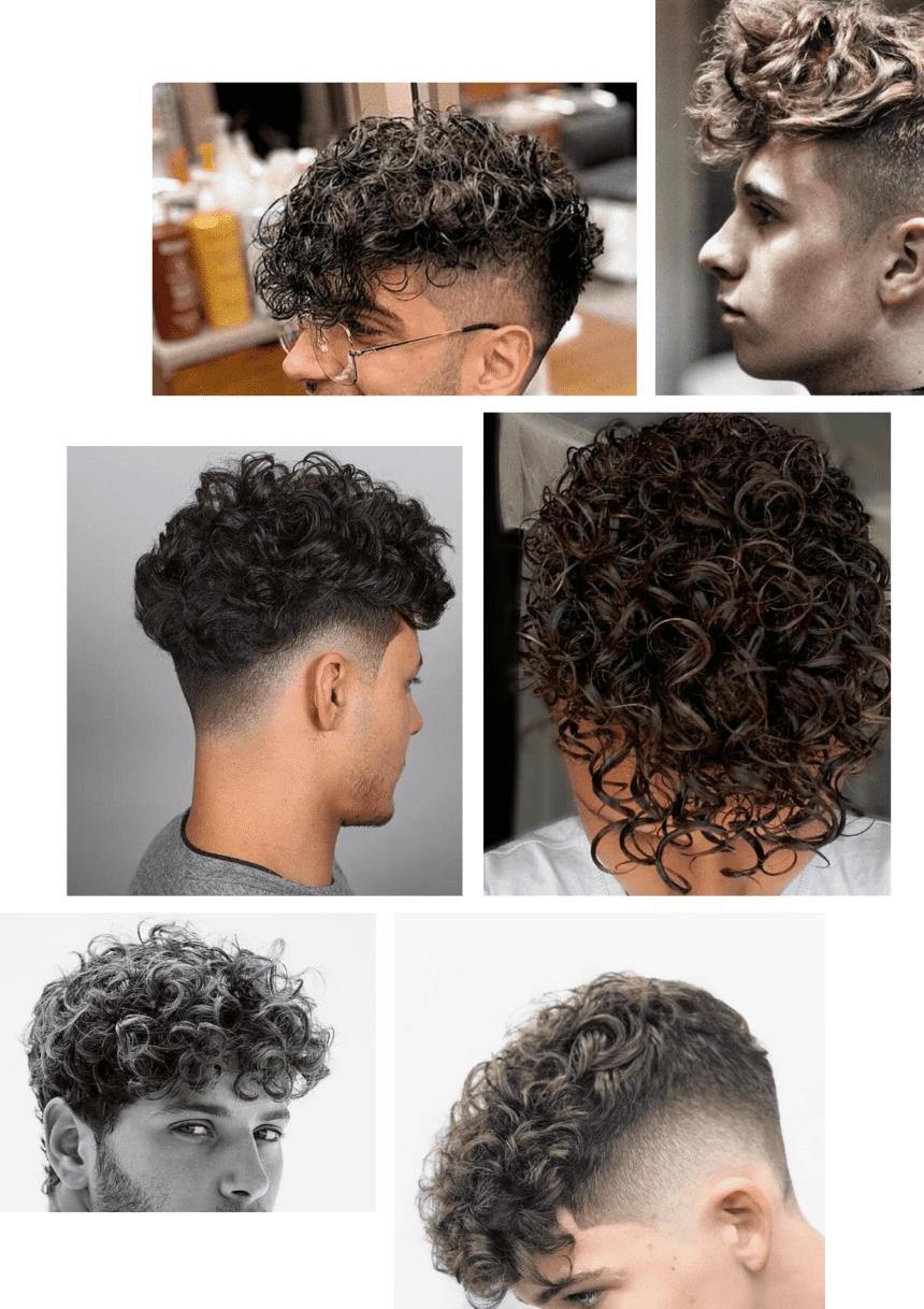 Permanente pour homme : tout ce qu'il faut savoir sur la permanente homme (durée, cheveux…)