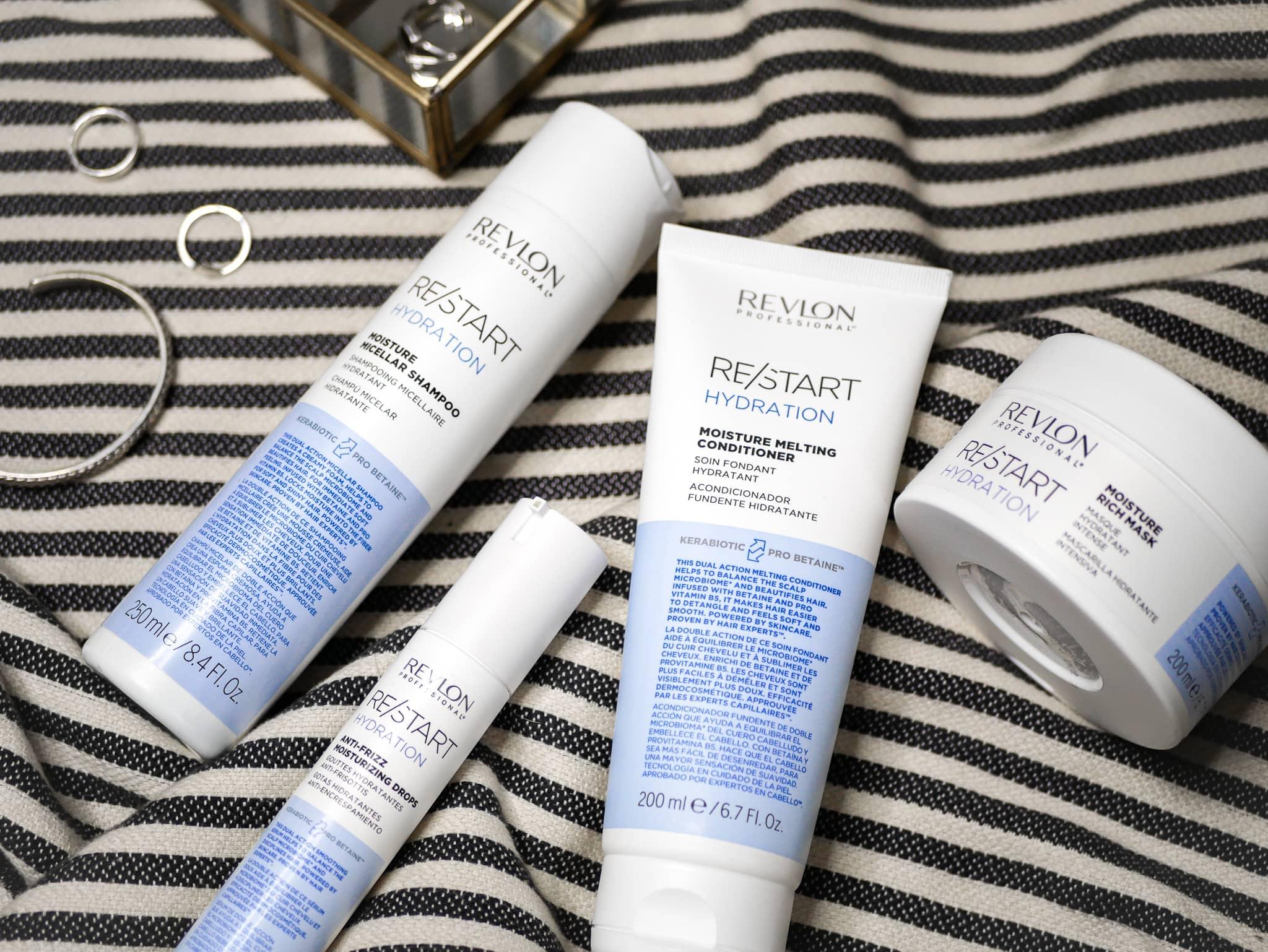 RESTART your hair avec Revlon Professional : présentation et avis de la gamme RE/START Hydratation