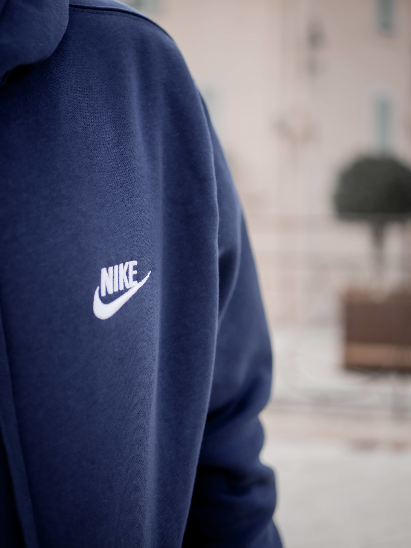 Sweat nike bleu